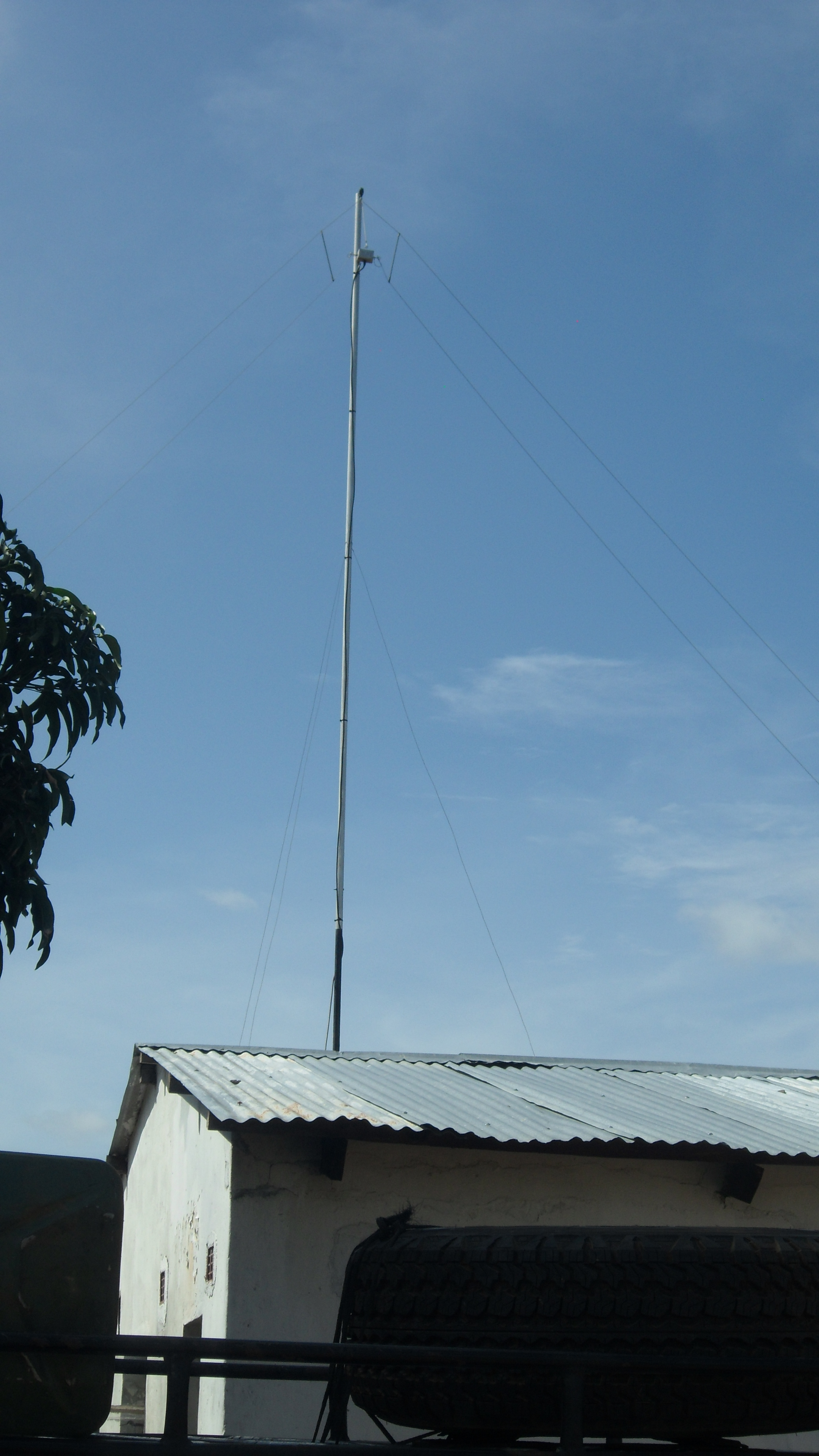 Chasera HP 380-6 Communication mast